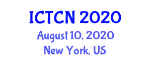 International Conference on Theoretical Chemistry and Nanomodeling (ICTCN) August 10, 2020 - New York, United States
