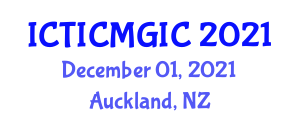 International Conference on Theoretical Inorganic Chemistry and Main Group Inorganic Compounds (ICTICMGIC) December 01, 2021 - Auckland, New Zealand