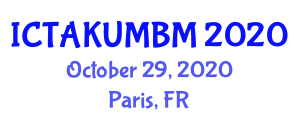 International Conference on Thermal Analysis Kinetics for Understanding Materials Behavior and Melting (ICTAKUMBM) October 29, 2020 - Paris, France