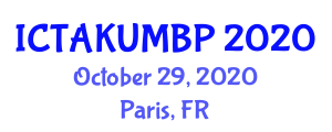 International Conference on Thermal Analysis Kinetics for Understanding Materials Behavior and Polymerization (ICTAKUMBP) October 29, 2020 - Paris, France