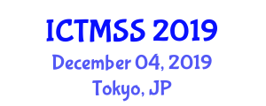 International Conference on Time Management in Sports Science (ICTMSS) December 04, 2019 - Tokyo, Japan