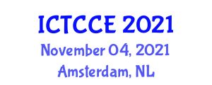 International Conference on Tourism, Culture, Creativity and Economy (ICTCCE) November 04, 2021 - Amsterdam, Netherlands