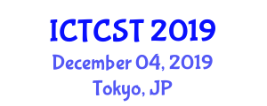 International Conference on Traffic Control System Technology (ICTCST) December 04, 2019 - Tokyo, Japan