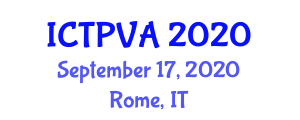 International Conference on Traffic Psychology and Visual Attention (ICTPVA) September 17, 2020 - Rome, Italy