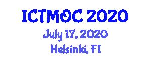 International Conference on Transition-Metal Organometallic Chemistry (ICTMOC) July 17, 2020 - Helsinki, Finland