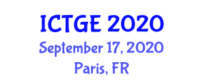 International Conference on Transport Geography and Engineering (ICTGE) September 17, 2020 - Paris, France