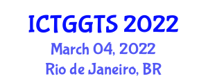 International Conference on Transport Geography and Geography of Transport Systems (ICTGGTS) March 04, 2022 - Rio de Janeiro, Brazil