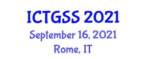 International Conference on Transport Geography and Spatial Systems (ICTGSS) September 16, 2021 - Rome, Italy
