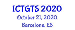 International Conference on Transport Geography and Transport Systems (ICTGTS) October 21, 2020 - Barcelona, Spain