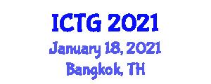 International Conference on Transport Geography (ICTG) January 18, 2021 - Bangkok, Thailand