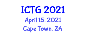 International Conference on Transportation and Geography (ICTG) April 15, 2021 - Cape Town, South Africa