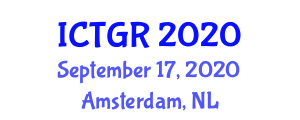 International Conference on Transportation Geography and Research (ICTGR) September 17, 2020 - Amsterdam, Netherlands