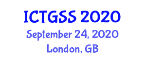 International Conference on Transportation Geography and Spatial Systems (ICTGSS) September 24, 2020 - London, United Kingdom