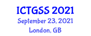 International Conference on Transportation Geography and Spatial Systems (ICTGSS) September 23, 2021 - London, United Kingdom