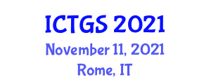 International Conference on Transportation Geography and Systems (ICTGS) November 11, 2021 - Rome, Italy