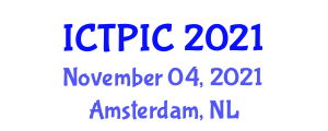 International Conference on Transportation Planning and Infrastructure Conditions (ICTPIC) November 04, 2021 - Amsterdam, Netherlands