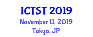 International Conference on Transportation Science and Technology (ICTST) November 11, 2019 - Tokyo, Japan