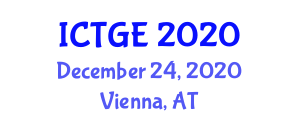International Conference on Tropical Geography and Ecology (ICTGE) December 24, 2020 - Vienna, Austria