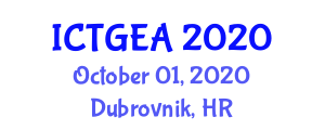 International Conference on Tropical Geography and Ecosystem Analysis (ICTGEA) October 01, 2020 - Dubrovnik, Croatia