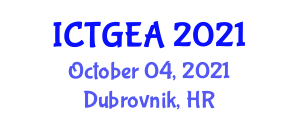 International Conference on Tropical Geography and Ecosystem Analysis (ICTGEA) October 04, 2021 - Dubrovnik, Croatia