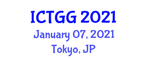 International Conference on Tropical Geography and Geoecology (ICTGG) January 07, 2021 - Tokyo, Japan