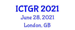 International Conference on Tropical Geography and Research (ICTGR) June 28, 2021 - London, United Kingdom