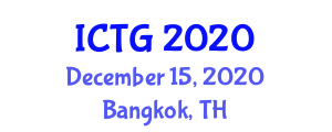 International Conference on Tropical Geography (ICTG) December 15, 2020 - Bangkok, Thailand