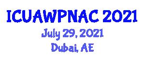International Conference on Urban Animal Welfare Policies and Nonhuman Animals in Cities (ICUAWPNAC) July 29, 2021 - Dubai, United Arab Emirates