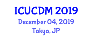 International Conference on Urban Construction Development and Management (ICUCDM) December 04, 2019 - Tokyo, Japan