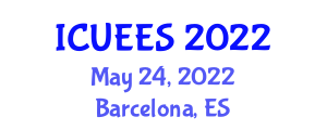 International Conference on Urban Earthquake Engineering and Seismology (ICUEES) May 24, 2022 - Barcelona, Spain