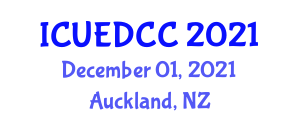 International Conference on Urban Environmental Degradation and Climate Change (ICUEDCC) December 01, 2021 - Auckland, New Zealand