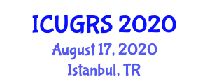 International Conference on Urban Geography and Regional Studies (ICUGRS) August 17, 2020 - Istanbul, Turkey