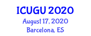 International Conference on Urban Geography and Urbanization (ICUGU) August 17, 2020 - Barcelona, Spain