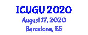 International Conference on Urban Geography and Urbanization (ICUGU) August 17, 2020 - Barcelona, Spain
