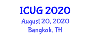 International Conference on Urban Geography (ICUG) August 20, 2020 - Bangkok, Thailand