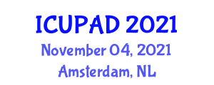 International Conference on Urban Planning and Architectural Design (ICUPAD) November 04, 2021 - Amsterdam, Netherlands