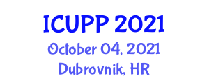 International Conference on Urban Planning Policy (ICUPP) October 04, 2021 - Dubrovnik, Croatia