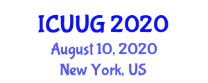 International Conference on Urbanization and Urban Geography (ICUUG) August 10, 2020 - New York, United States