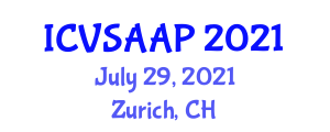 International Conference on Veterinary Sciences, Animal Anatomy and Physiology (ICVSAAP) July 29, 2021 - Zurich, Switzerland