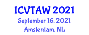 International Conference on Veterinary Technology and Animal Welfare (ICVTAW) September 16, 2021 - Amsterdam, Netherlands