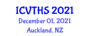 International Conference on Veterinary Technology and Health Sciences (ICVTHS) December 01, 2021 - Auckland, New Zealand