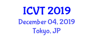 International Conference on Veterinary Toxicology (ICVT) December 04, 2019 - Tokyo, Japan