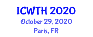 International Conference on War Tourism and History (ICWTH) October 29, 2020 - Paris, France