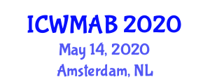 International Conference on Waste Management and Advanced Biotechnology (ICWMAB) May 14, 2020 - Amsterdam, Netherlands