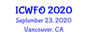 International Conference on Wastewater Filtration and Oxidation (ICWFO) September 23, 2020 - Vancouver, Canada