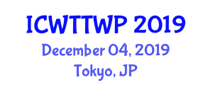 International Conference on Wastewater Treatment Technologies and Water Pollution (ICWTTWP) December 04, 2019 - Tokyo, Japan
