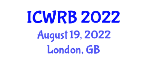 International Conference on Wearable Robotics and Biomechanics (ICWRB) August 19, 2022 - London, United Kingdom