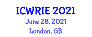 International Conference on Wearable Robotics and Industrial Exoskeletons (ICWRIE) June 28, 2021 - London, United Kingdom