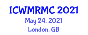 International Conference on Wheeled Mobile Robotics and Motion Constraints (ICWMRMC) May 24, 2021 - London, United Kingdom