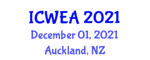 International Conference on Wind Engineering and Applications (ICWEA) December 01, 2021 - Auckland, New Zealand